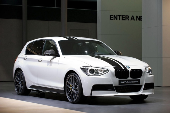 BMW Serie 1, video-teaser degli accessori M Performance Parts
