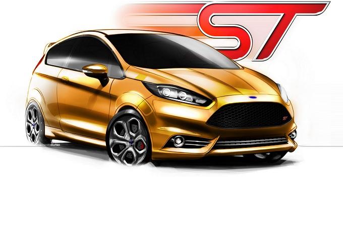 Ford Fiesta ST e Ford Kuga 2013 al Salone di Ginevra 2012