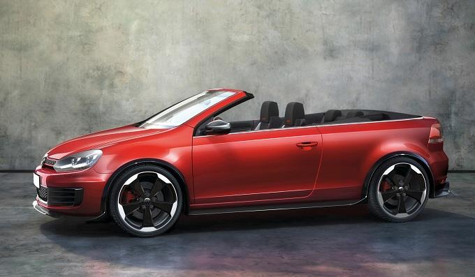 Volkswagen Golf Cabriolet, versione GTI al Salone di Ginevra 2012?