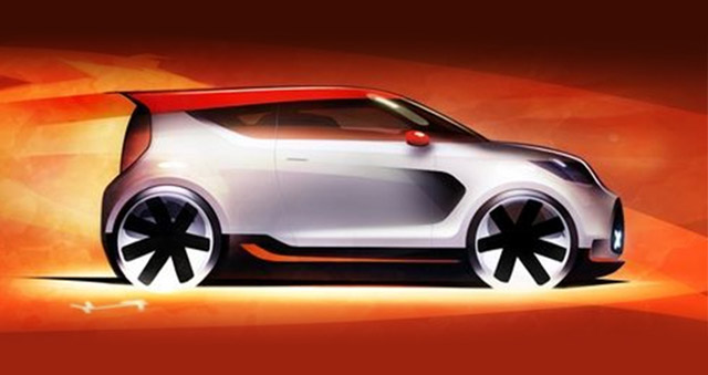 Kia Track'ster, teaser di una nuova concept car