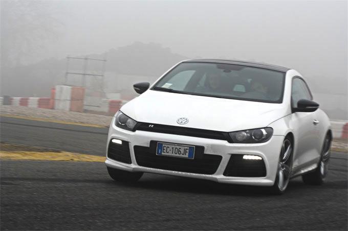 Volkswagen Scirocco R, prova su strada e in pista