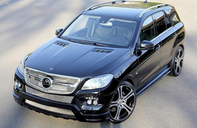 Mercedes ML by Carlsson, tocco sportivo per il nuovo SUV di Stoccarda