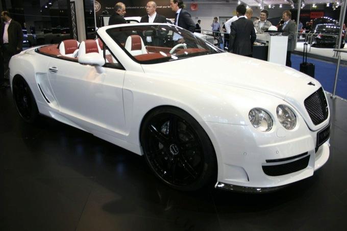 Ginevra 2012 Bentley Continental Gtc Le Mansory Ii Nuovo Look Aggressivo