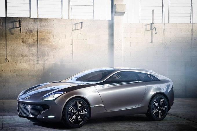Hyundai i-oniq Concept, prima immagine ufficiale