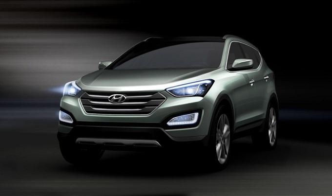 Hyundai ix45, il nuovo 2.2 litri CRDi diesel genera 225 cavalli