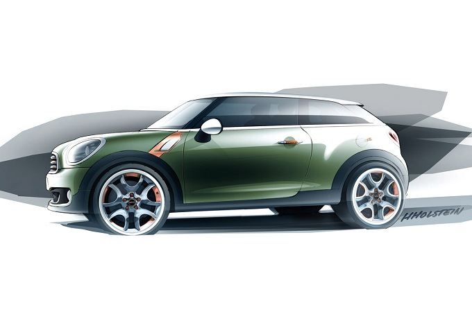 MINI Paceman Concept, si chiamerà MINI Countryman Coupé