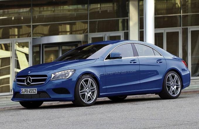 Mercedes, come si chiamerà la nuova coupé a quattro porte?