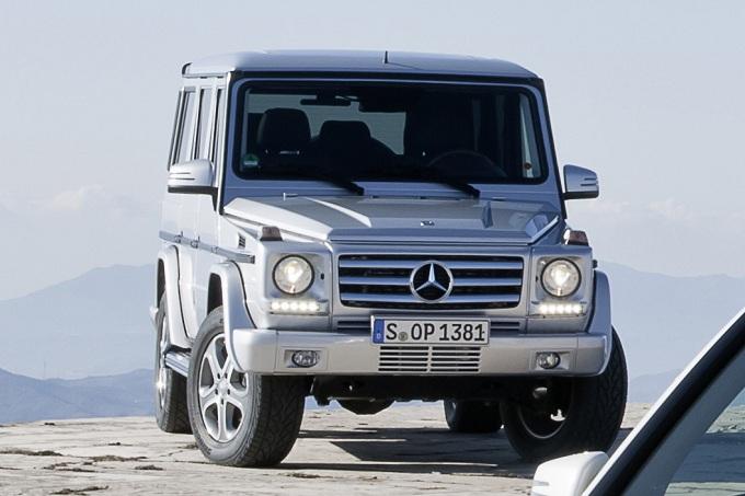 Mercedes G restyling, prima immagine ufficiale