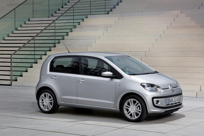 Nuova Volkswagen Up! cinque porte