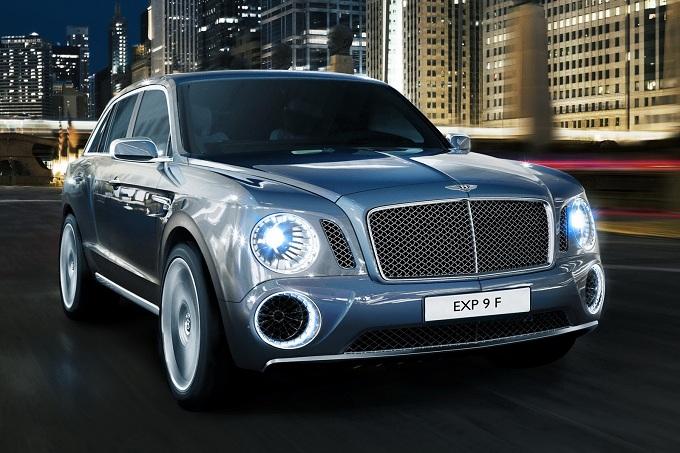 Bentley, il SUV anche al Salone di Pechino 2012