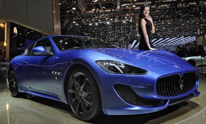 Maserati Granturismo Sport In Anteprima Mondiale Al Salone