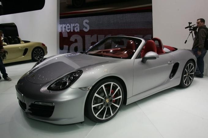 Porsche Boxter S - Salone di Ginevra 2012