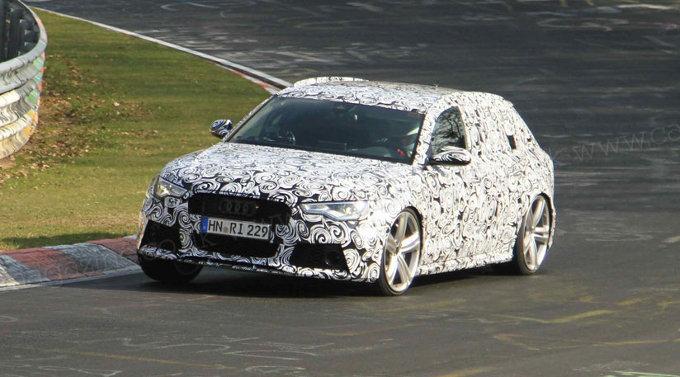 Audi RS6 Avant, video spia della prossima generazione
