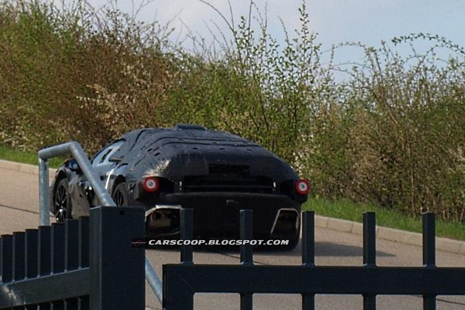 Ferrari F70 foto spia aprile 2012