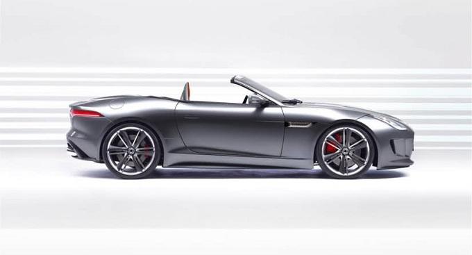 Jaguar F-Type Rendering