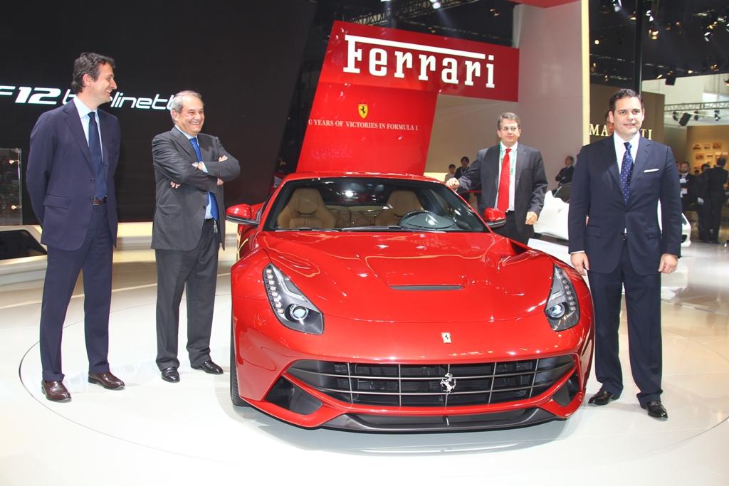 Ferrari stupisce Pechino con la F12berlinetta e l'evoluzione della HY-KERS
