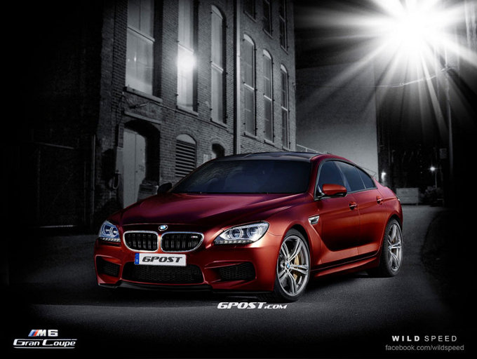 BMW M6 Gran Coupé, ecco a cosa potrebbe assomigliare