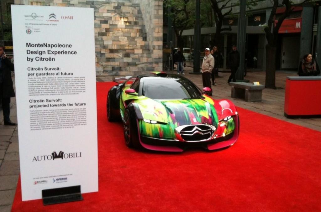 Citroën espone la sua storia alla Design Week 2012 di Milano