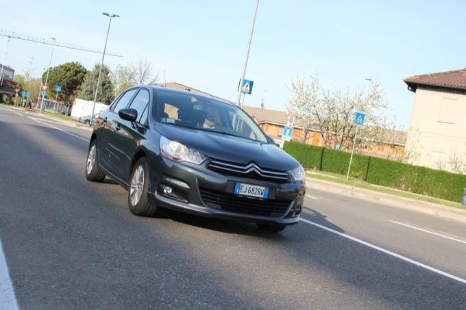 Citroën C4 VTI GPL: prova su strada