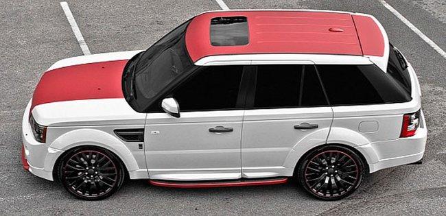 Range Rover Sport by Kahn Design, ennesima variante tuning