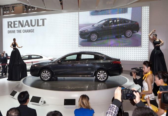 Renault Talisman - Salone di Pechino 2012