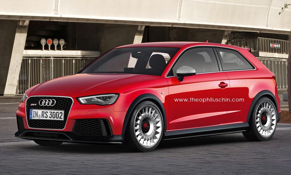 Audi Rs3 Coupe Render Della Nuova Generazione