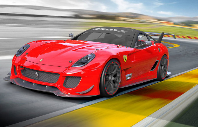 Ferrari, una 599XX Evoluzione all'asta per le vittime del sisma