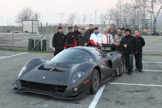 La Ferrari P4/5 Competizione stabilisce il record per le rosse sul Nürburgring
