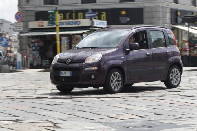 Nuova Fiat Panda: prova su strada