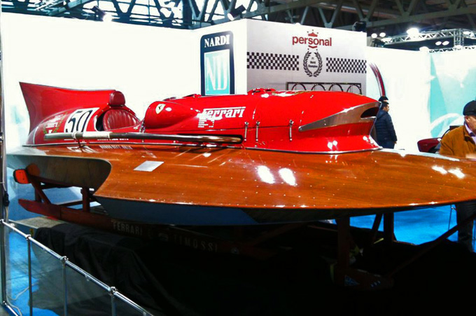 Timossi Arno XI, la Ferrari che correva sull'acqua