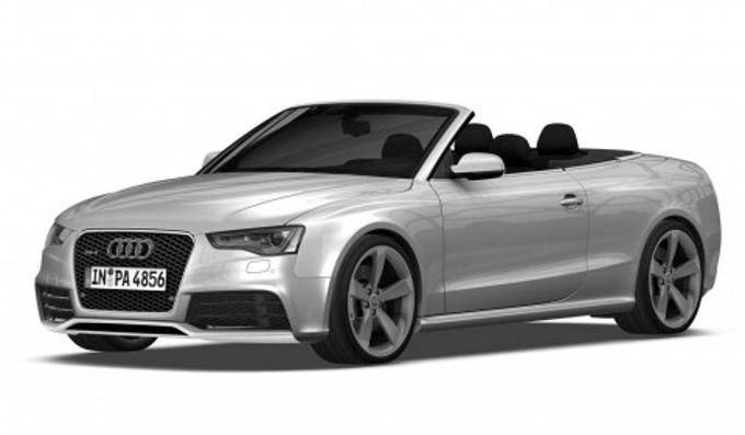 Audi RS5 Cabriolet, ecco il primo bozzetto