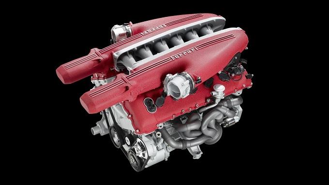 Ferrari California, video-test di un motore turbo-benzina