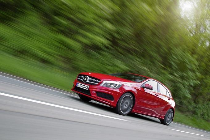 Mercedes Classe A 2012, ancora immagini della media di Stoccarda