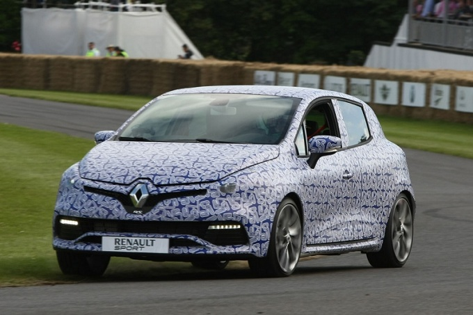 Renault Clio RS 2013 Goodwood