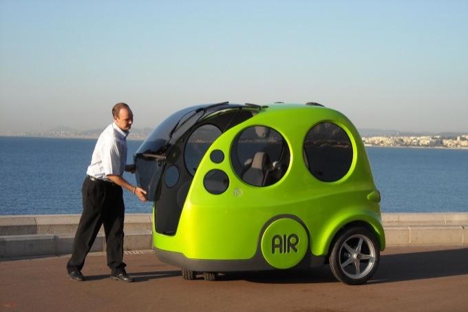 AirPod, vantaggi e dubbi sull'auto ad aria compressa