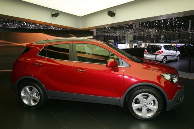 Opel Mokka, confermato il debutto per la fine del 2012