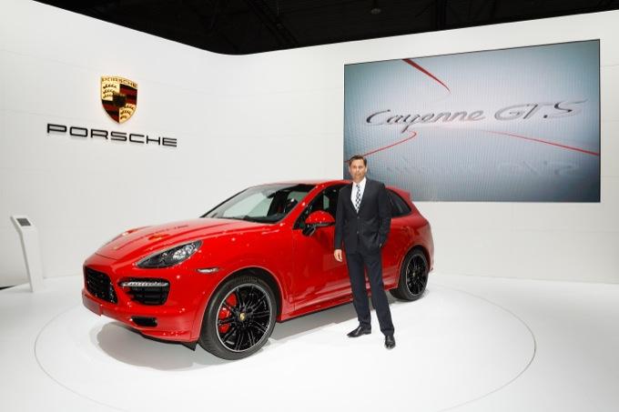 Porsche Cayenne GTS presentata ufficialmente a Lipsia 2012