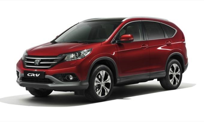 Honda CR-V 2013, presentata ufficialmente la nuova versione