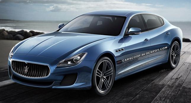 Maserati Quattroporte 2013, sarà così l'ammiraglia del Tridente?