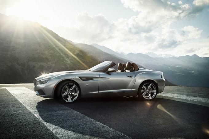 BMW Zagato Roadster, informazioni ed immagini ufficiali