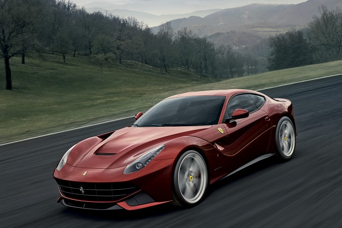 Ferrari F12berlinetta, debutto statunitense a Pebble Beach 2012