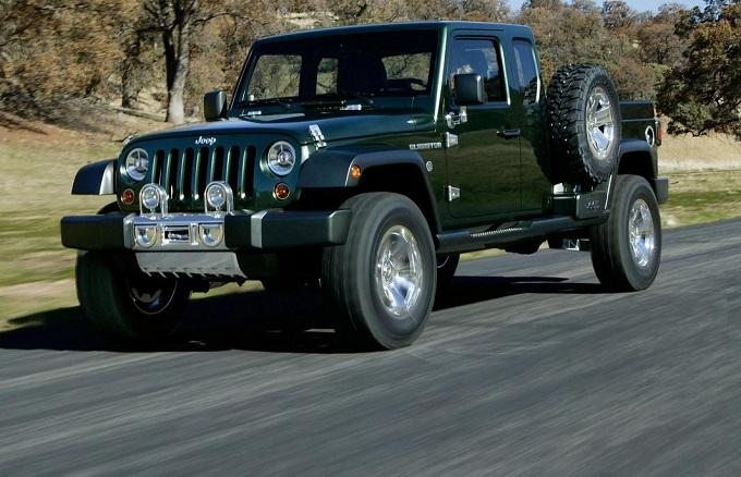 Jeep, il brand potrebbe produrre un pick-up