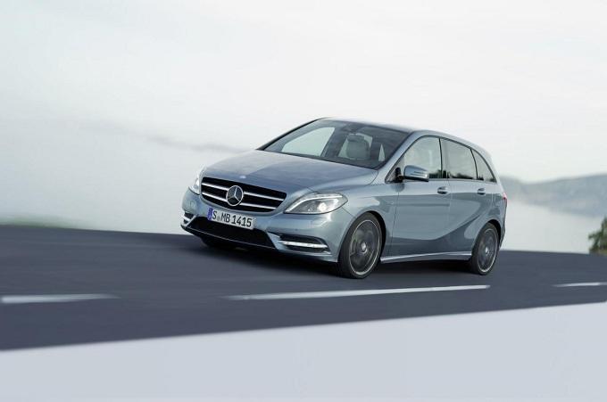 Mercedes Classe B, probabile una versione a sette posti
