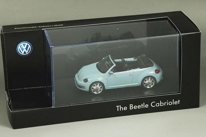 Volkswagen Maggiolino Cabriolet, svelata da alcuni modellini in scala