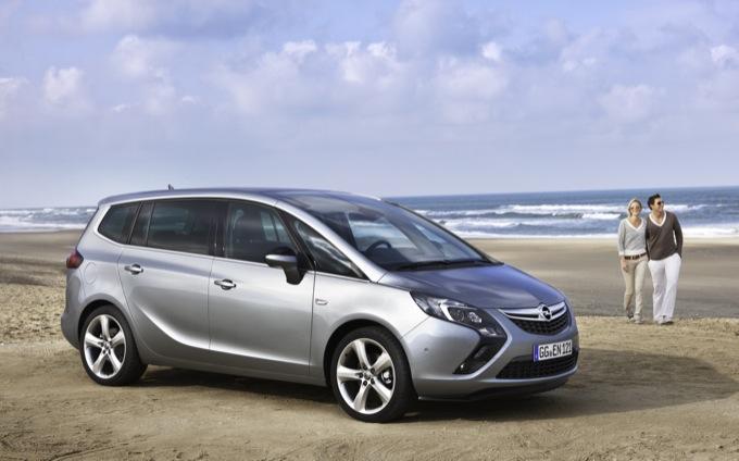 Opel Zafira Tourer, arriva anche il nuovo motore a GPL