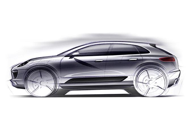 Porsche Macan, sarà presentata al Salone di Francoforte 2013