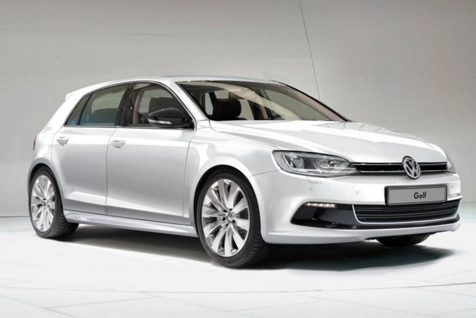Volkswagen Golf 7 render