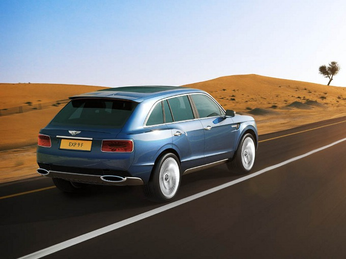 Bentley EXP 9 F, confermata la produzione