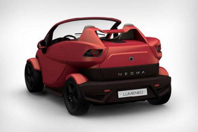 Salone di Parigi 2012: Lumeneo Neoma Roadster Concept
