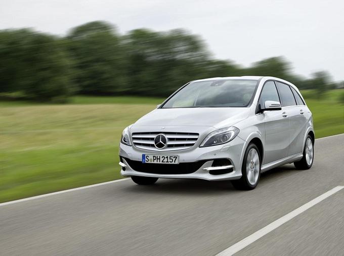 Mercedes Classe B, in arrivo la versione a metano